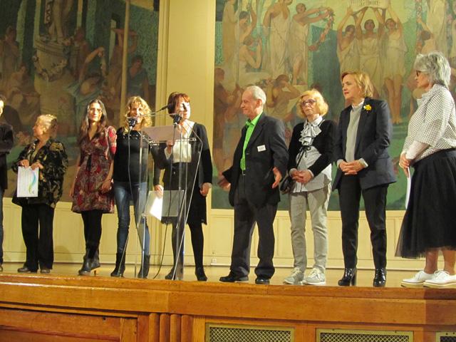 2 sociétaires récompensés à la Mairie du Vème
