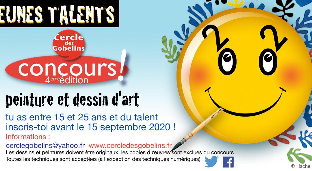 Concours Jeunes Talents 2020, reporté à 2021 suite au COVID 19